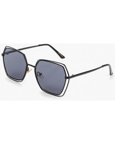 Солнцезащитные очки черные итальянский Marco Bonne