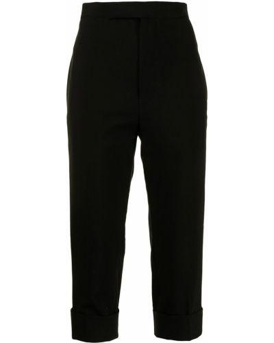 Черные брюки с карманами Yohji Yamamoto
