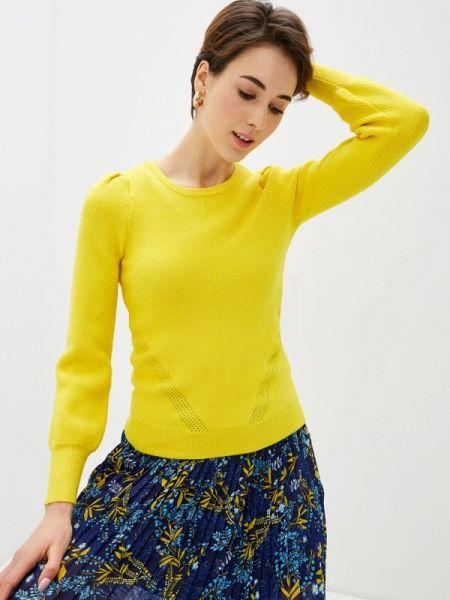 Свитер весенний желтый Naf Naf