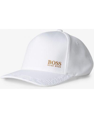 Biała czapka z daszkiem Boss Athleisure