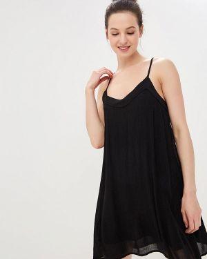 Черное платье Roxy