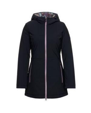 Czarny płaszcz Ea7 Emporio Armani