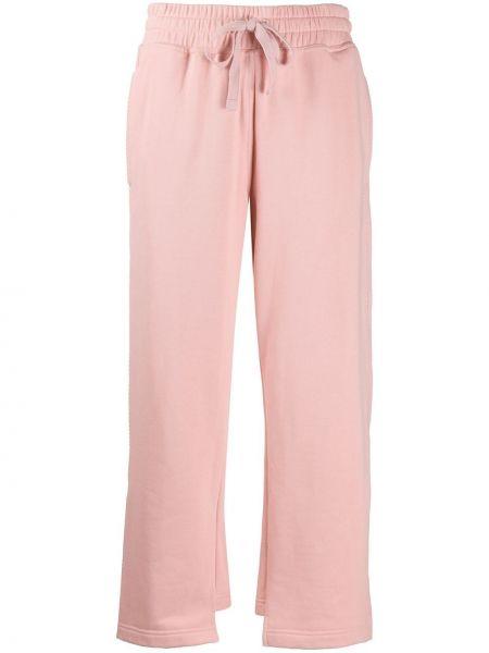 Спортивные брюки укороченные розовый Adidas By Stella Mccartney