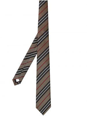 Классический желтый галстук Burberry