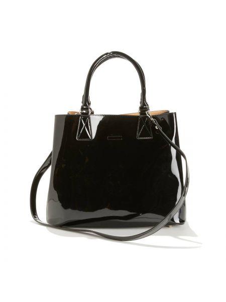 Черная сумка на молнии с карманами La Redoute