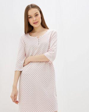 Платье осеннее розовое Nymos