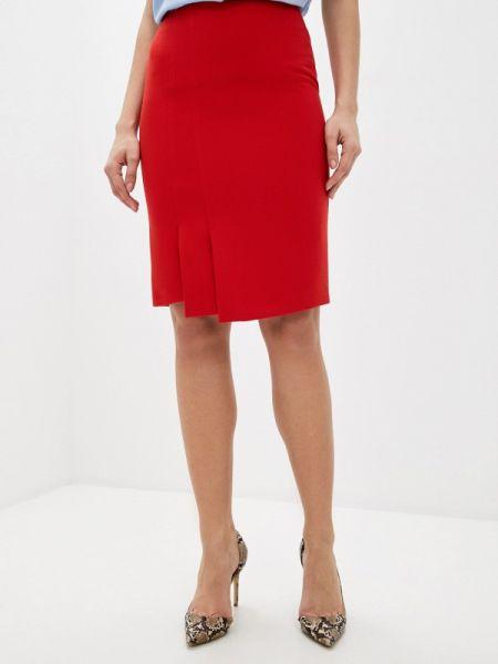 Красное облегающее платье Samos Fashion Group