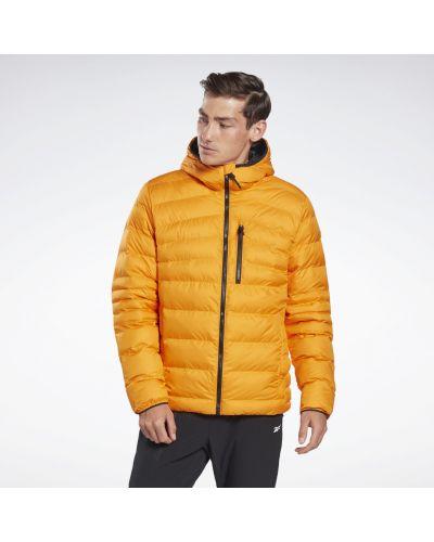 Оранжевая куртка Reebok