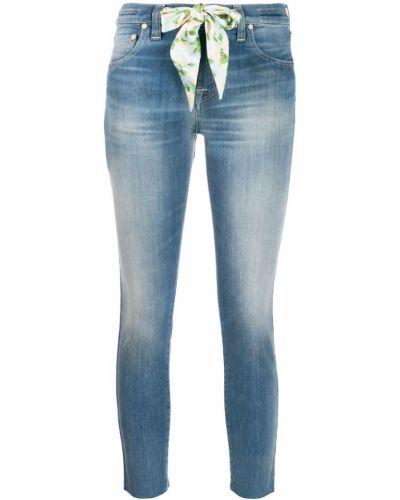 Укороченные джинсы синие средний Jacob Cohen