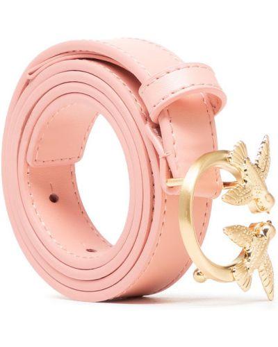 Różowy pasek z paskiem Pinko