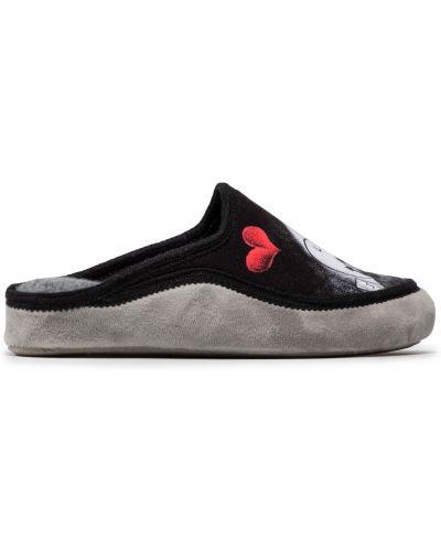 Тапочки - черные Manitu