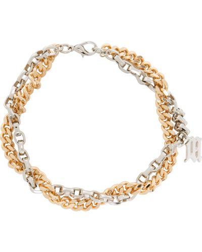 Złoty naszyjnik łańcuch Misbhv