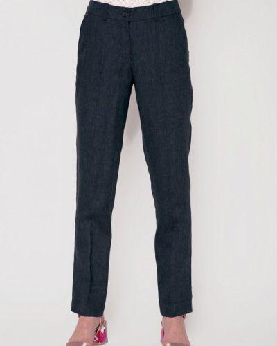 Серые брюки прямые Garmoniya