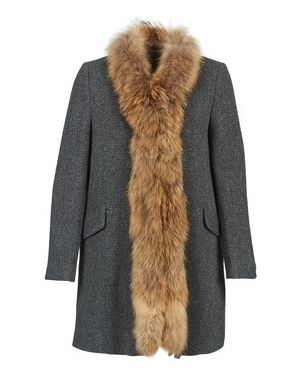 Szary płaszcz przeciwdeszczowy Stella Forest