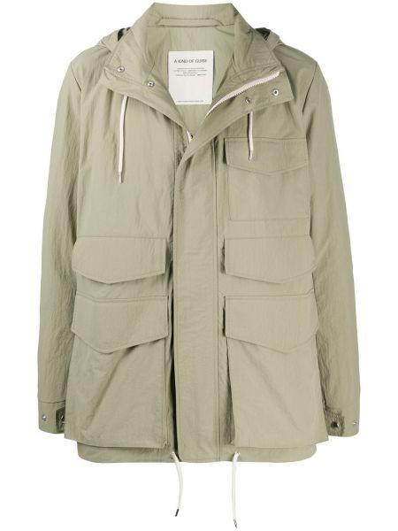 Длинное пальто с воротником на молнии A Kind Of Guise