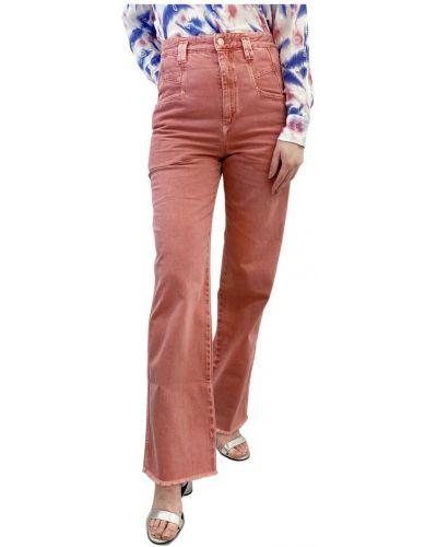 Mom jeans - pomarańczowe Isabel Marant