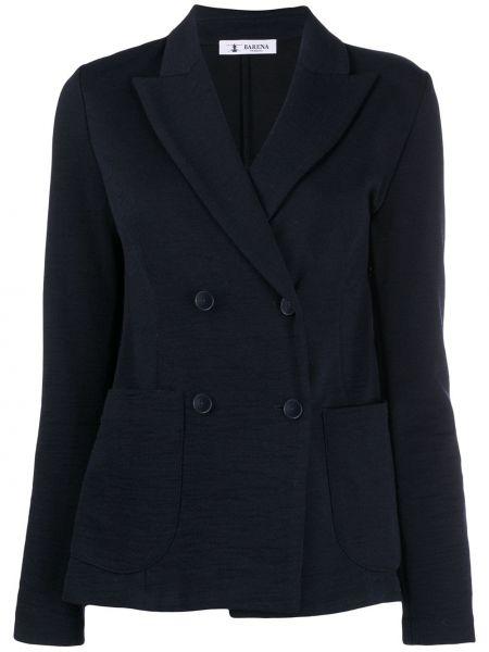 Куртка с карманами синий Barena