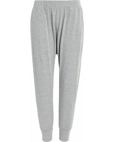 Трикотажные укороченные брюки на резинке Spiritual Gangster