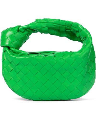 Torba na ramię, zielony Bottega Veneta