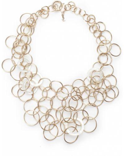 Массивное ожерелье - золотое Yves Saint Laurent Vintage