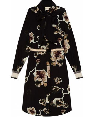 Платье миди на пуговицах на резинке By Malene Birger
