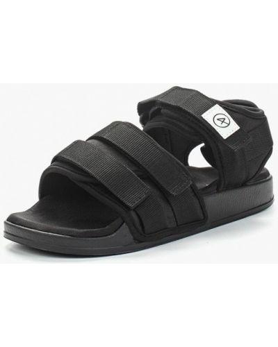 Черные сандалии Affex