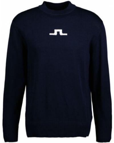 Sweter - niebieski J.lindeberg