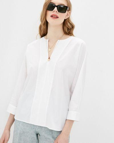 Блузка с длинными рукавами - белая Cappellini