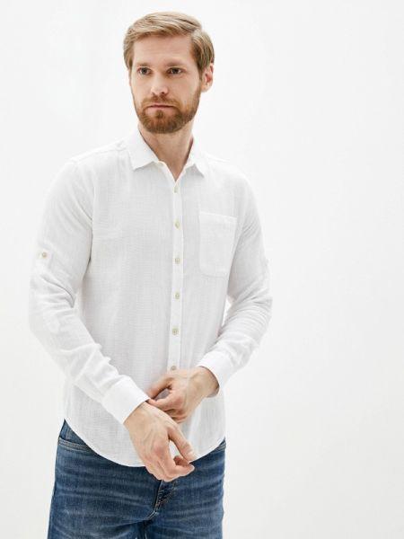 Рубашка с длинным рукавом белый Defacto