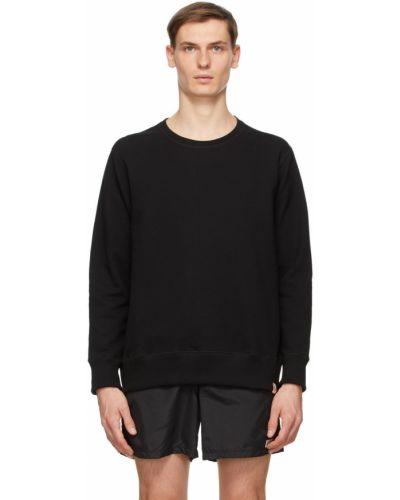 Czarna bluza długa z długimi rękawami Bather