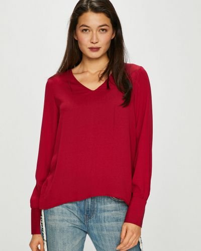 Блузка с V-образным вырезом прямая Vero Moda