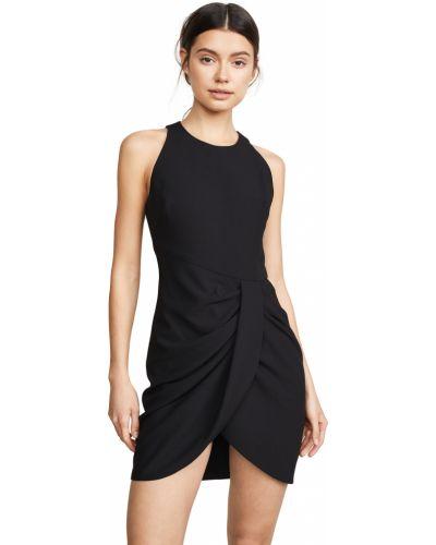 Черное платье мини без рукавов с подкладкой Black Halo