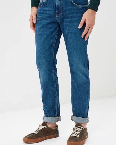 Синие прямые джинсы Tommy Hilfiger