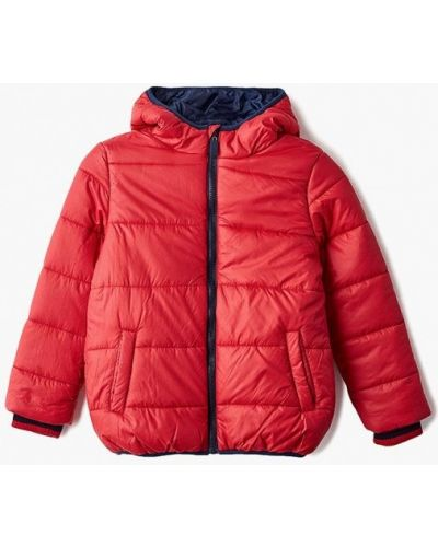 Красная куртка теплая Modis