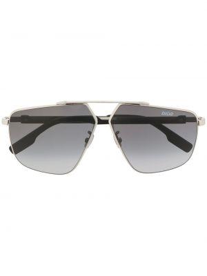 Синие солнцезащитные очки металлические Dior Eyewear