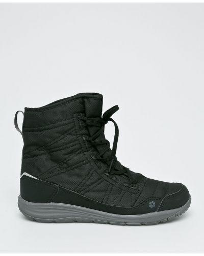 Ботинки на шнуровке теплые текстильные Jack Wolfskin