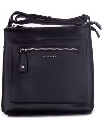 Текстильная сумка - черная Fiorelli