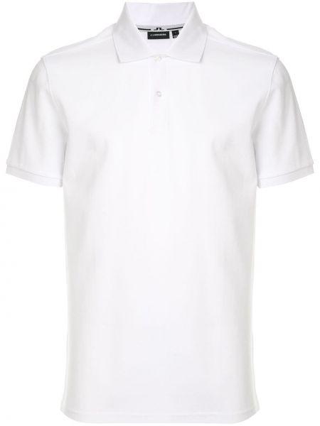 Рубашка с коротким рукавом - белая J.lindeberg