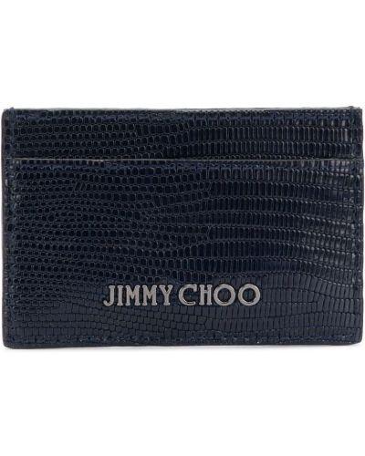 Визитница черная Jimmy Choo
