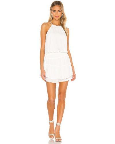 Белое платье с подкладкой из крепа Krisa