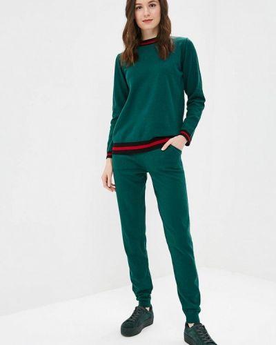 Зеленый костюм вязаный Lezzarine