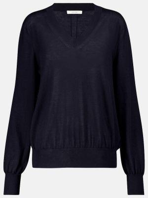 Кашемировый свитер - синий The Row