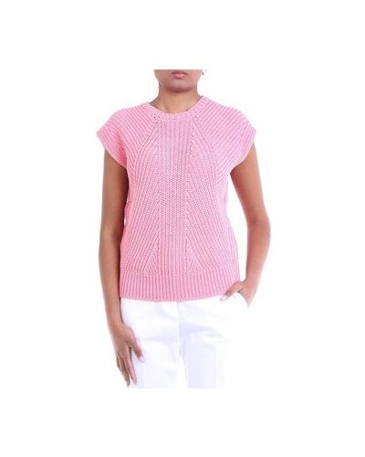 Różowy sweter Cappellini