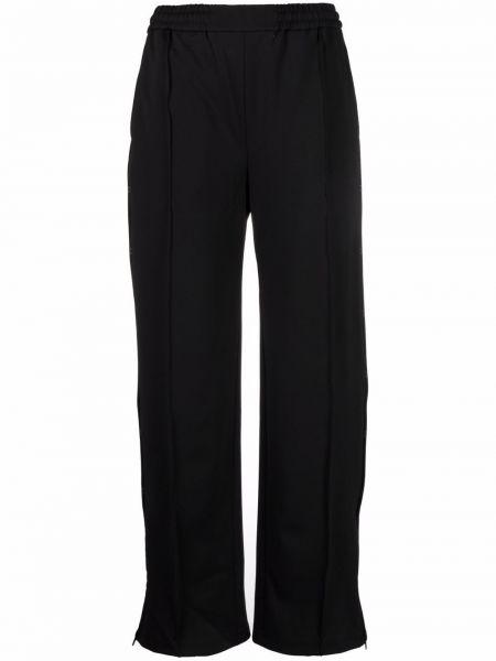 Широкие брюки - черные Mcq