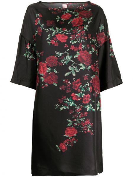 Шелковое платье - черное Antonio Marras