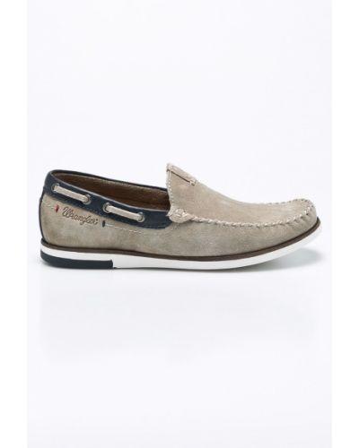 Туфли текстильные резиновые Wrangler