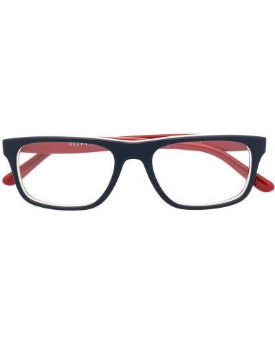 Okulary srebrne - białe Polo Ralph Lauren