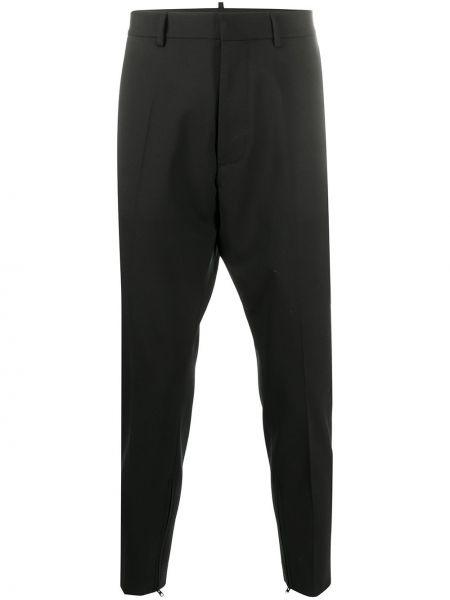 Przycięte spodnie, czarny Dsquared2