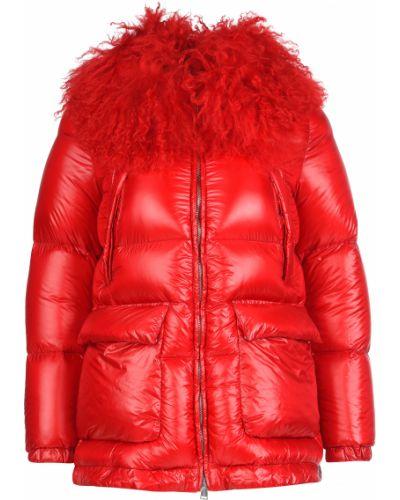 Куртка осенняя красная Add