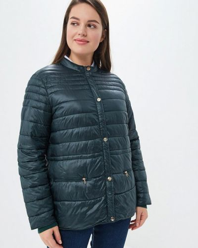 Утепленная куртка - зеленая Rosa Thea